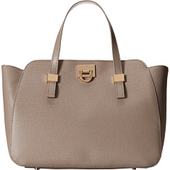 SALE! $69.99 - Save $80 on Ivanka Trump Rebecca Satchel (Stone Saffiano) Bags and Luggage - 53.34% OFF $150.00