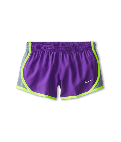Nike Kids - Tempo Short (Little Kids/Big Kids) (Hyper Grape/Magnet Grey/Volt/Sail) Girl's Shorts