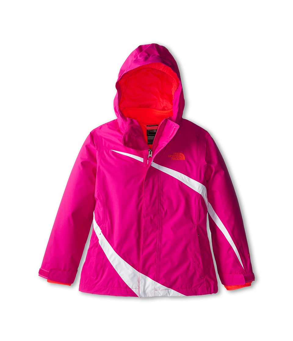 The North Face Kids - Mountain View Triclimate Jacket (Little Kids/Big Kids) (Azalea Pink) Girl's Jacket