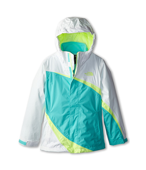The North Face Kids - Mountain View Triclimate Jacket (Little Kids/Big Kids) (TNF White) Girl