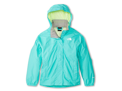 The North Face Kids - Resolve Reflective Jacket (Little Kids/Big Kids) (Mint Blue) Girl's Coat