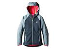 Nike Kids Ultimate Protect Jacket-Softshell (Little Kids/Big Kids) (Dark Magnet Grey/Reflective Silver)