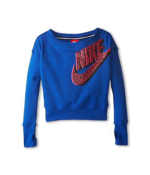 Nike Kids - Seasonal SB Crew (Little Kids/Big Kids) (Game Royal) Girl