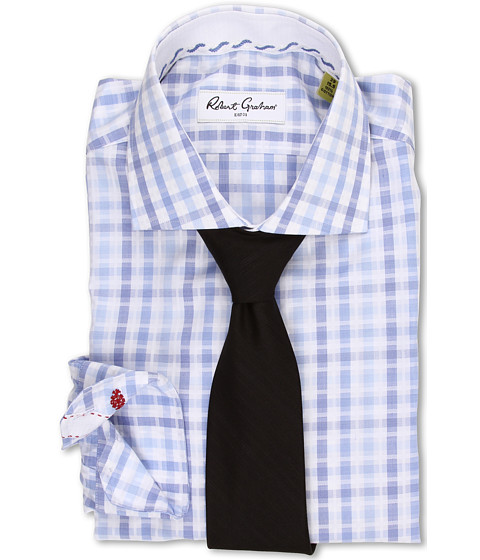 Robert Graham - Ethan Dress Shirt (Blue) Men