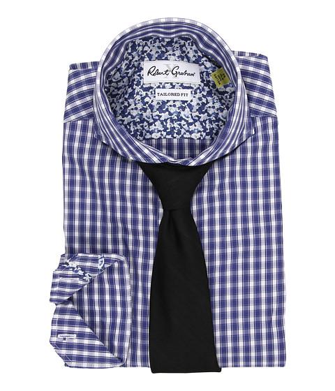 Robert Graham - X Tailored Fit Firenze Dress Shirt (Navy) Men