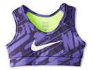 Nike Kids NP YA GFX Hypercool Bra (Little Kids/Big Kids) (Purple Haze/Dark Raisin/Volt/Sail)