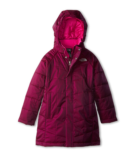 The North Face Kids - Metropolis Parka (Little Kids/Big Kids) (Parlour Purple) Girl
