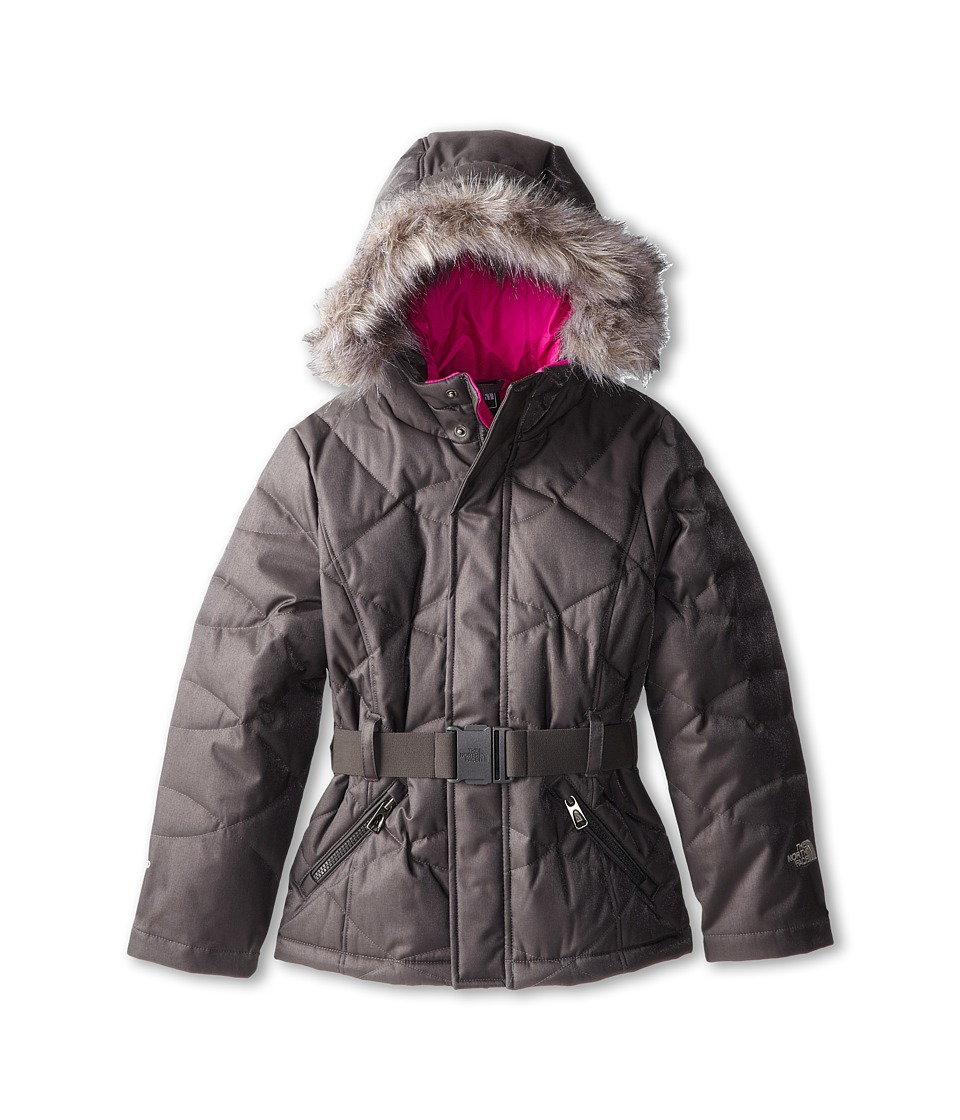 The North Face Kids - Metrolina Jacket (Little Kids/Big Kids) (Graphite Grey) Girl's Jacket