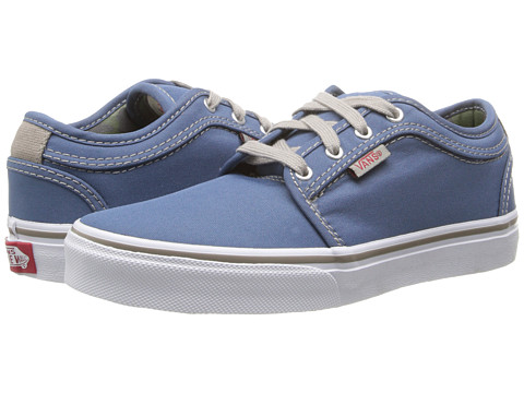 Vans Kids - Chukka Low (Little Kid/Big Kid) ((Bubble Camo) Blue) Boys Shoes