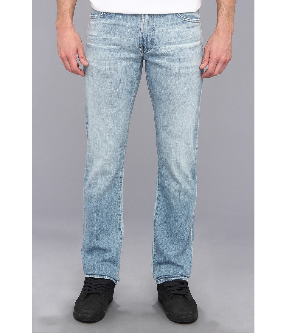 AG Adriano Goldschmied - Graduate Tailored Straight in 23 Years Aerial (23 Years Aerial) Men's Jeans