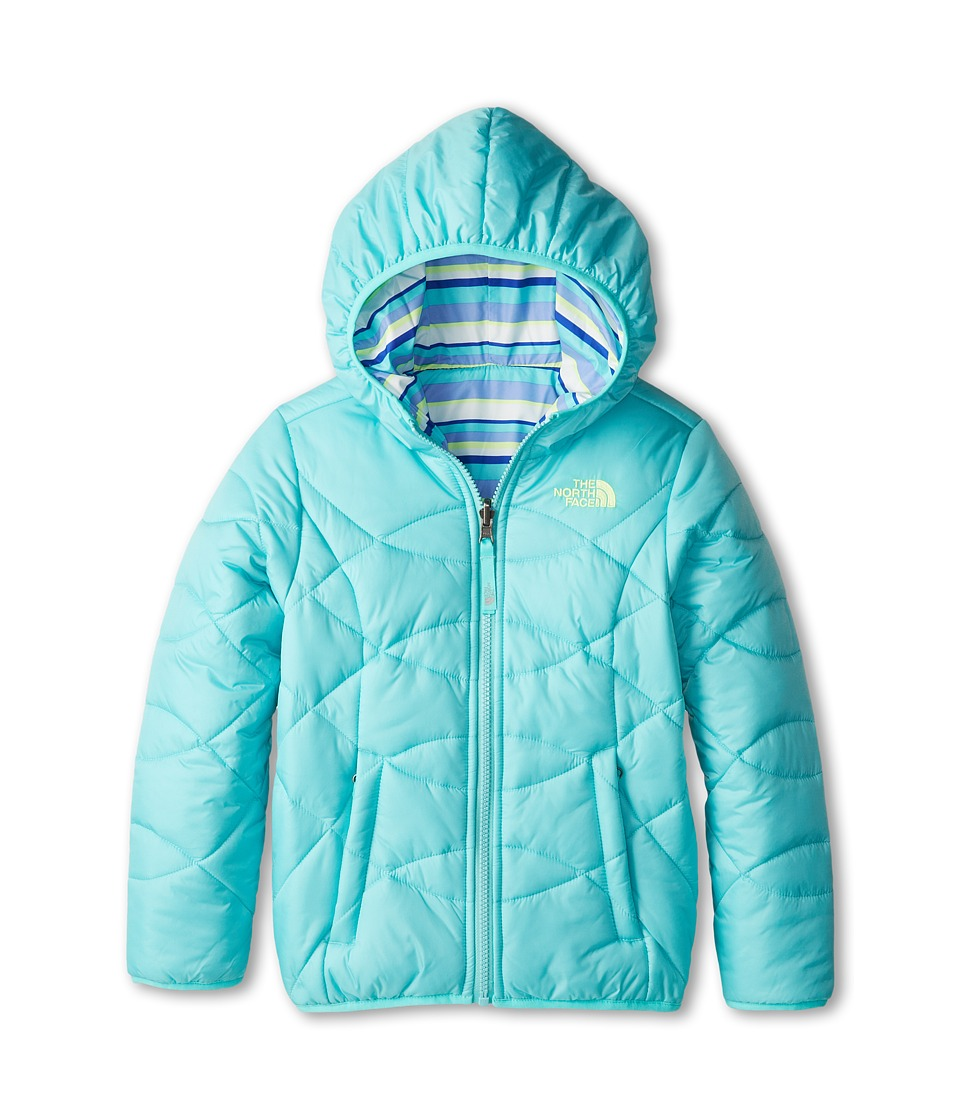 The North Face Kids - Reversible Perrito Jacket (Little Kids/Big Kids) (Mint Blue) Girl