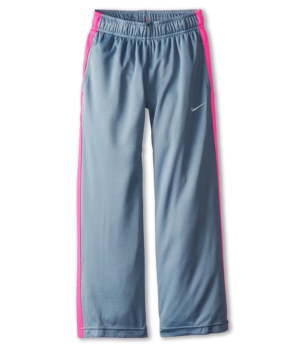 Nike Kids - Multi Sport Mesh SL Pant (Little Kids/Big Kids) (Magnet Grey/Hyper Pink/Sail/Sail) Girl