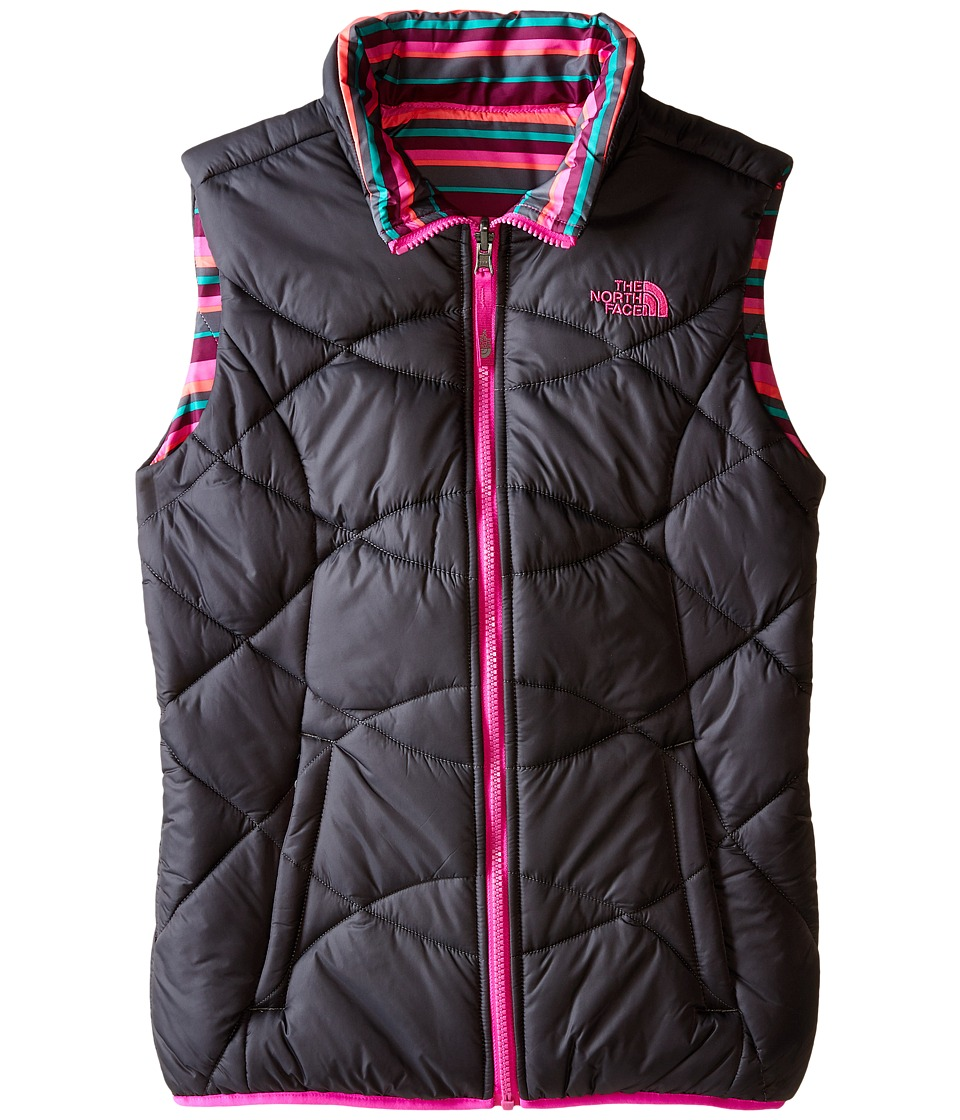 The North Face Kids - Reversible Perrito Vest (Little Kids/Big Kids) (Graphite Grey) Girl's Vest