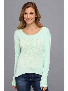 SALE! $17.99 - Save $19 on Fox L S Reborn Top (Mint) Apparel - 50.71% OFF $36.50