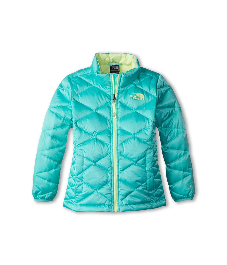 The North Face Kids - Aconcagua Jacket (Little Kids/Big Kids) (Mint Blue) Girl