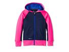 Nike Kids KO 2.0 FZ Hoody (Little Kids/Big Kids) (Midnight Navy/Hyper Pink/Hyper Cobalt)