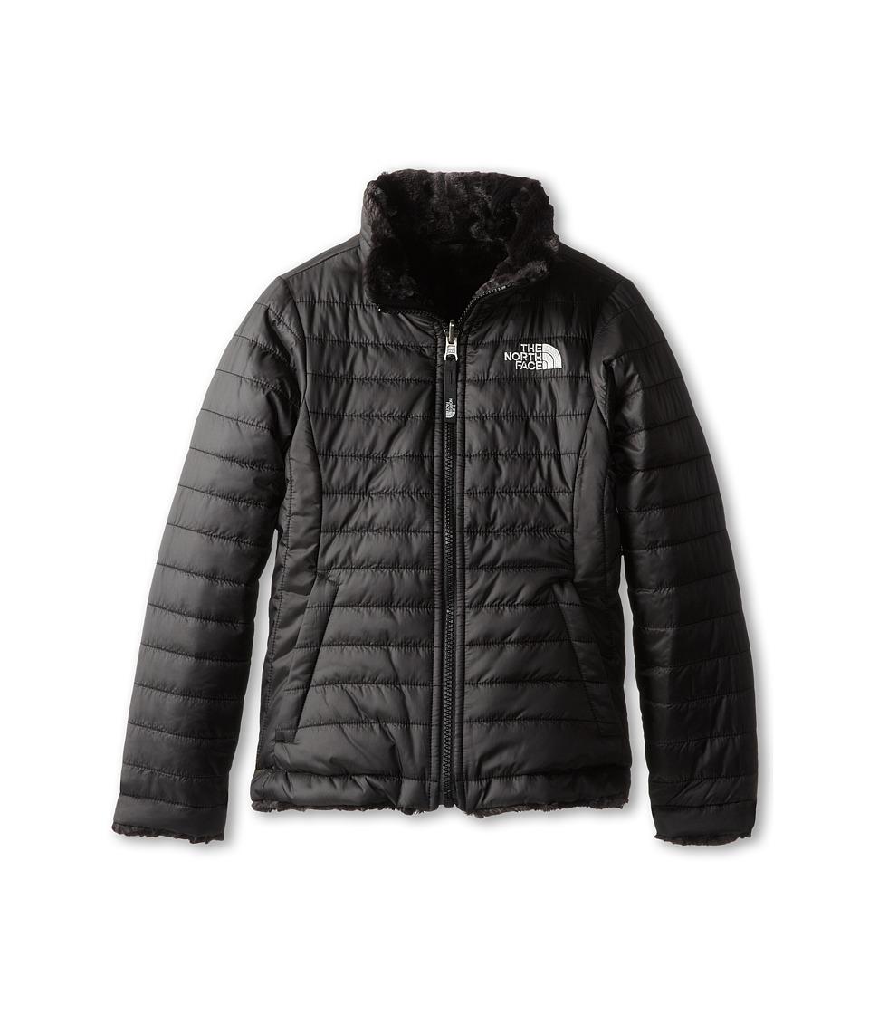 The North Face Kids - Reversible Mossbud Swirl Jacket (Little Kids/Big Kids) (TNF Black) Girl's Coat