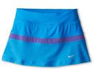 Nike Kids Victory Power Skirt (Little Kid/Big Kid) (Light Photo Blue/Purple Haze/Matte Silver)
