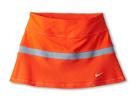 Nike Kids Victory Power Skirt (Little Kid/Big Kid) (Team Orange/Magnet Grey/Matte Silver)