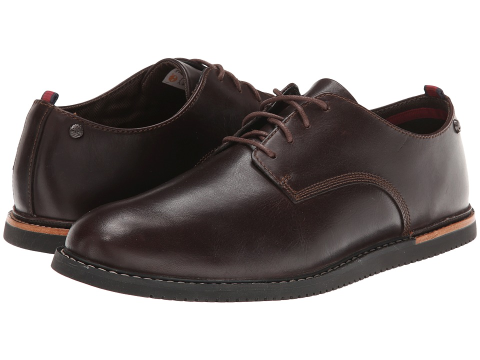 Timberland - Earthkeepers Brook Park Oxford Wedge (Brown Smooth) Men