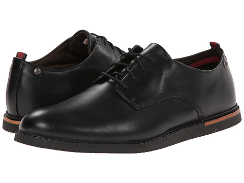 Timberland - Earthkeepers Brook Park Oxford Wedge (Black Smooth) Men
