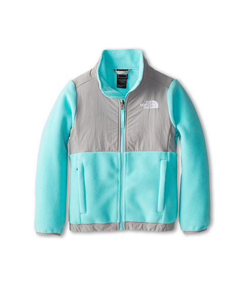 The North Face Kids - Denali Jacket (Little Kids/Big Kids) (Recycled Mint Blue) Girl's Coat