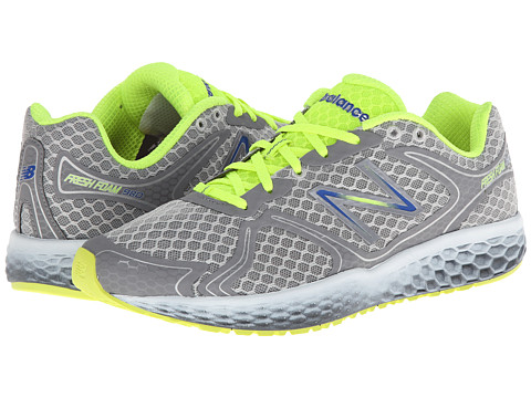 New Balance - Fresh Foam 980 (Silver/Yellow) Men's Shoes