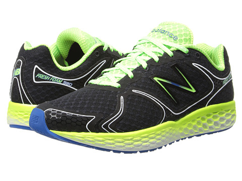 New Balance - Fresh Foam 980 (Black/Green) Men