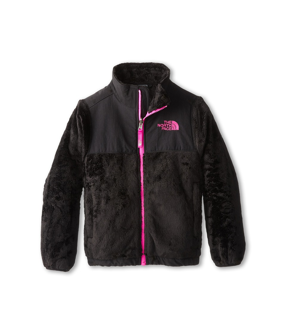 The North Face Kids - Denali Thermal Jacket (Little Kids/Big Kids) (TNF Black/Azalea Pink) Girl's Coat