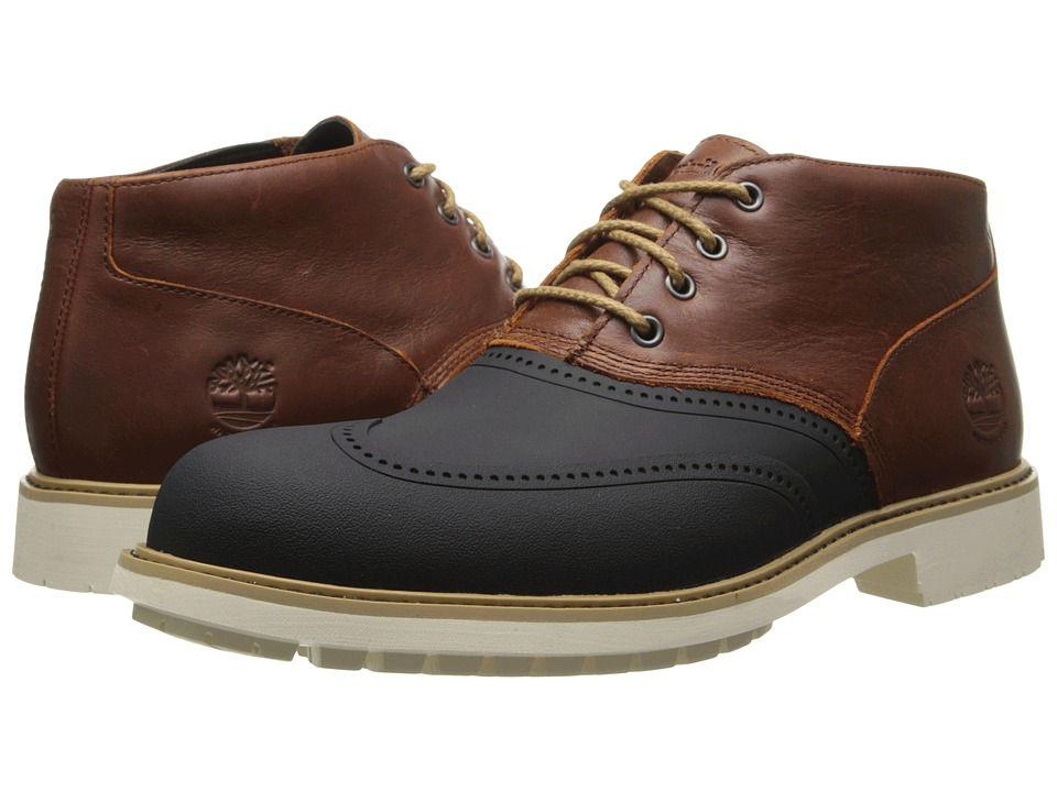 Timberland - Earthkeepers Stormbuck Duck Chukka (Red/Brown) Men's Lace up casual Shoes