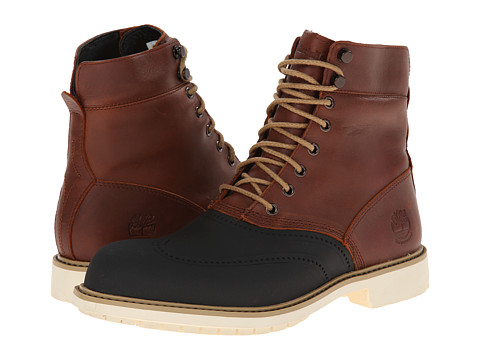 Timberland - Earthkeepers Stormbuck 6 Duck Boot (Red/Brown) Men's Lace-up Boots