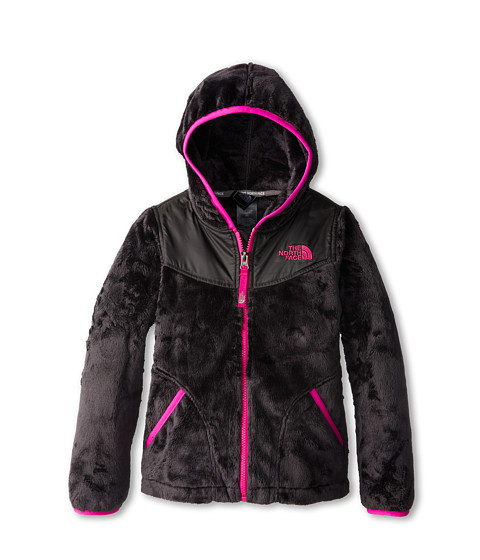 The North Face Kids - Oso Hoodie (Little Kids/Big Kids) (Graphite Grey/Azalea Pink) Girl's Sweatshirt