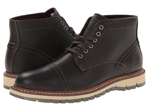 Timberland - Earthkeepers Britton Hill Chukka (Dark Brown Smooth) Men