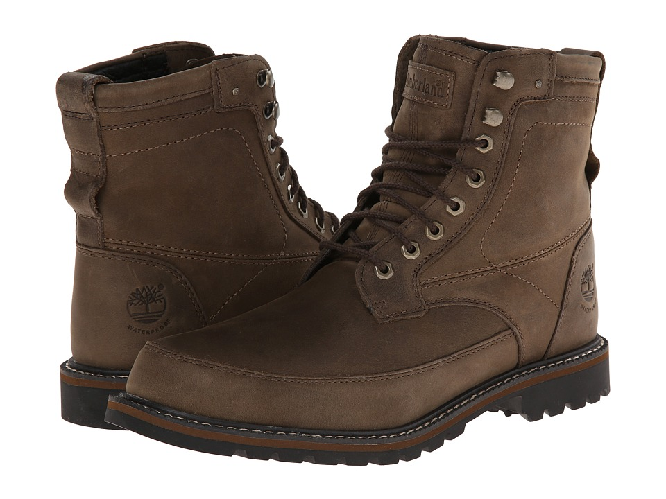 Timberland - Earthkeepers Chestnut Ridge 6 Boot Waterproof (Brown Oiled) Men's Lace-up Boots