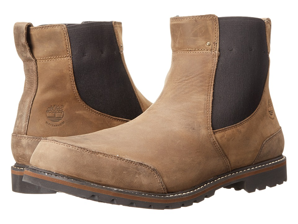Timberland - Earthkeepers Chestnut Ridge Chelsea Waterproof (Brown Oiled) Men's Pull-on Boots
