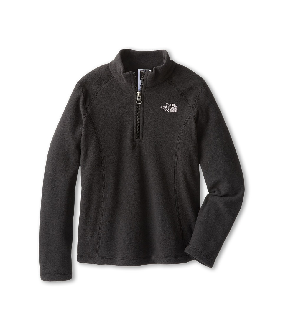 The North Face Kids - Glacier 1/4 Zip (Little Kids/Big Kids) (TNF Black) Girl