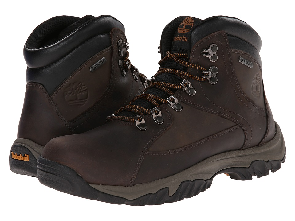 Timberland - Thorton Mid Gore-Tex Membrane (Dark Brown) Men's Pull-on Boots