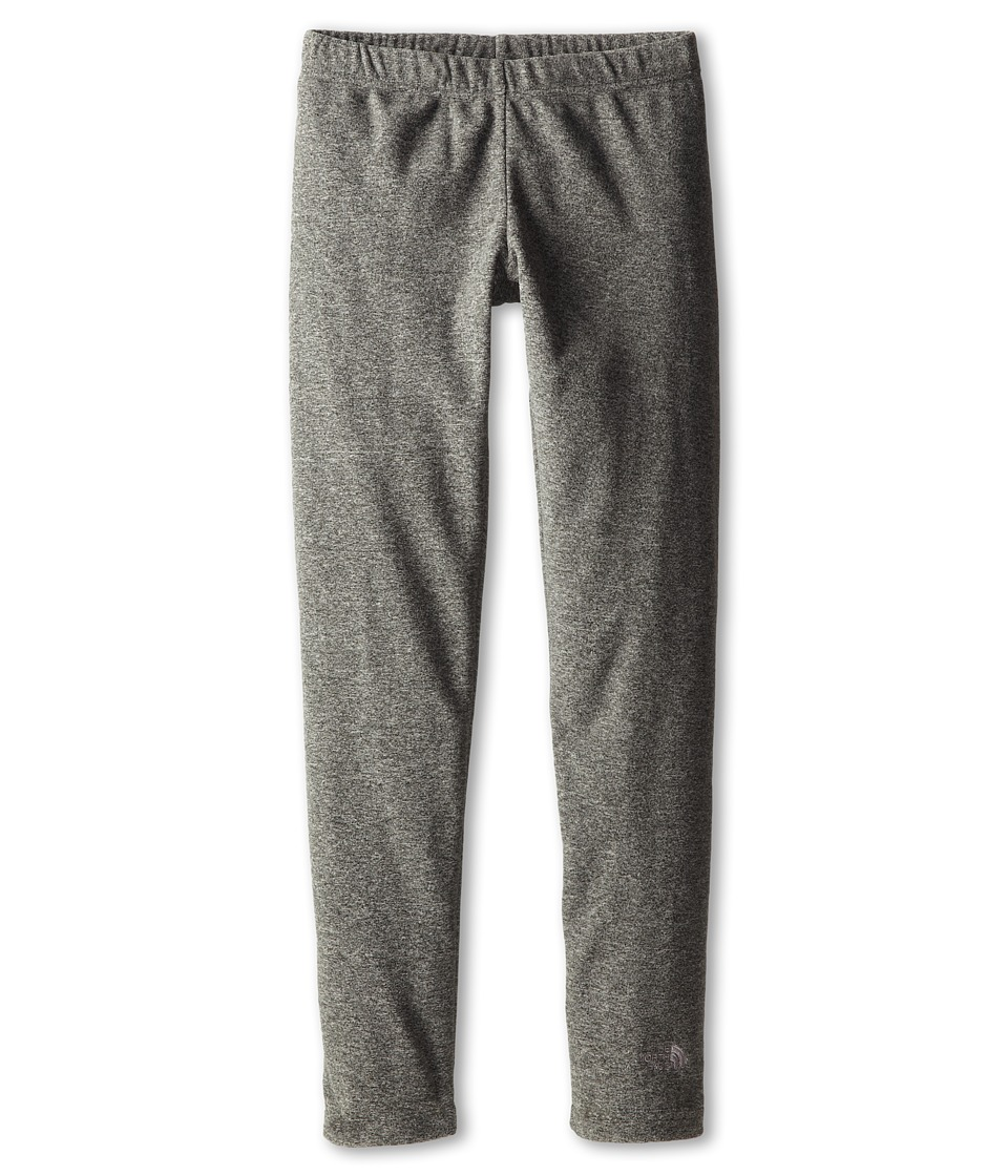 The North Face Kids - Girls' Glacier Legging (Little Kids/Big Kids) (Zinc Grey Heather/Foil Grey) Girl's Clothing
