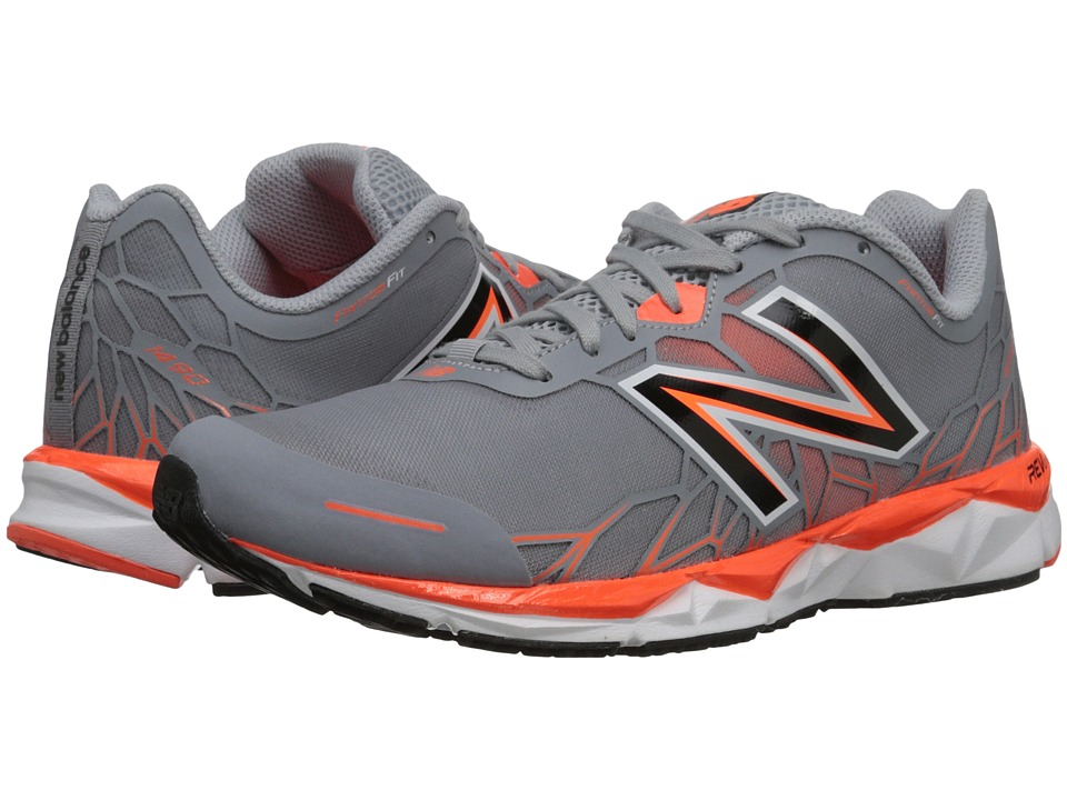 New Balance - M1490v1 (Silver/Orange) Men's Shoes