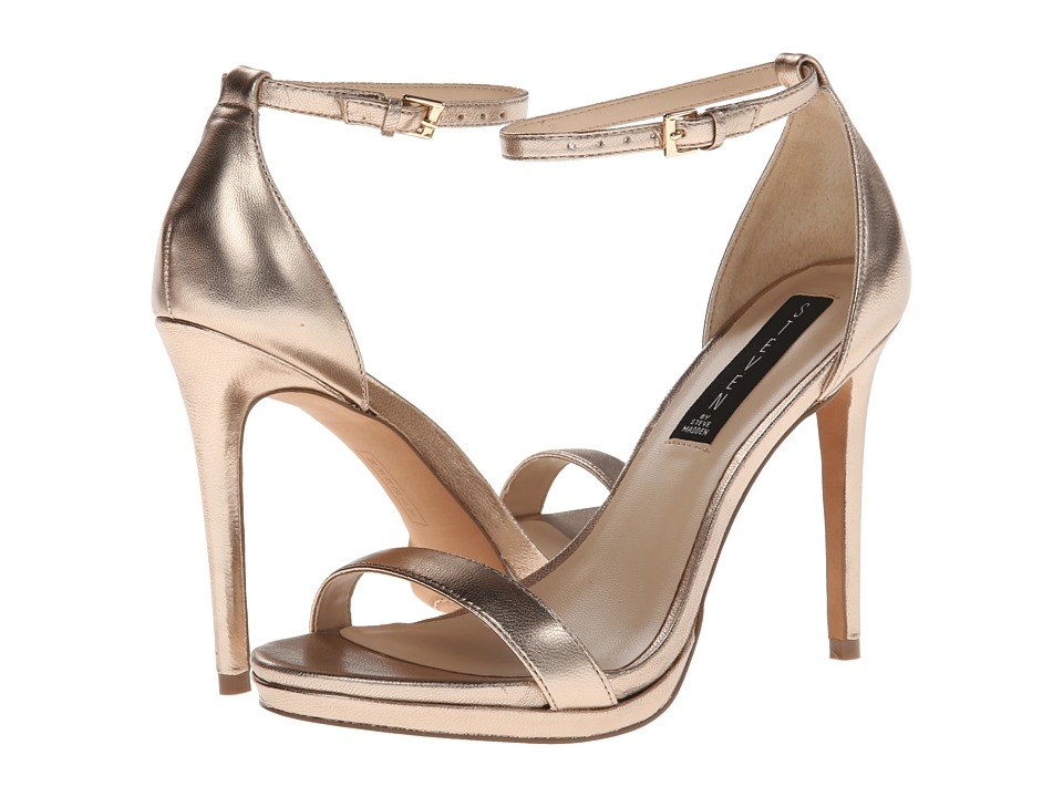 Steven - Rykie (Gold Leather) High Heels