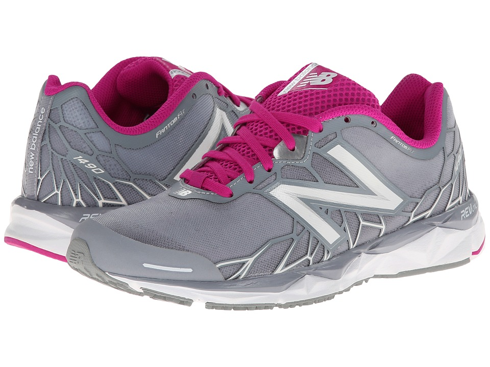 New Balance - W1490v1 (Silver/Pink) Women