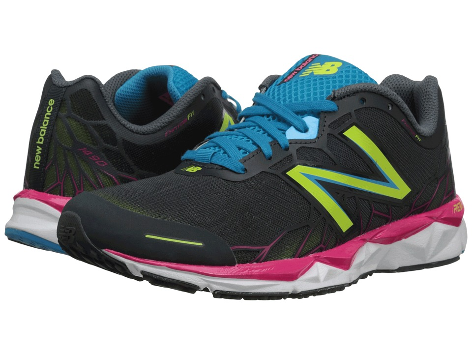 New Balance - W1490v1 (Grey/Pink) Women's Shoes
