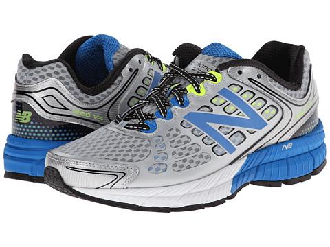 New Balance - M1260v4 (Silver/Blue) Men's Shoes