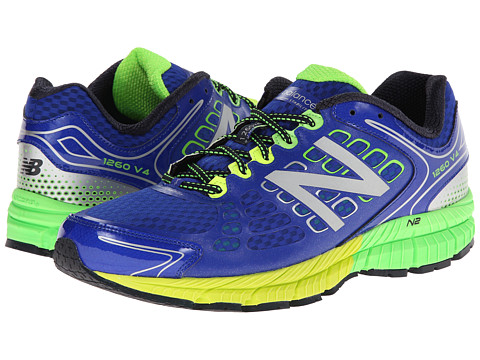 New Balance - M1260v4 (Blue/Green) Men's Shoes