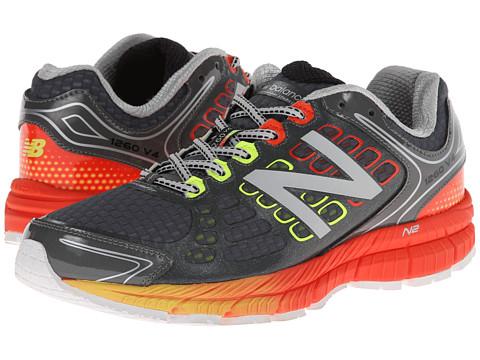 New Balance - M1260v4 (Grey/Orange) Men's Shoes