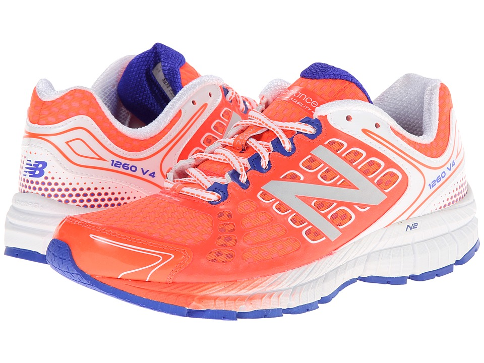 New Balance - W1260v4 (Coral/White) Women's Shoes