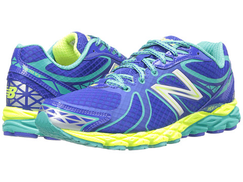 New Balance - W870v3 (Blue/Yellow) Women's Running Shoes