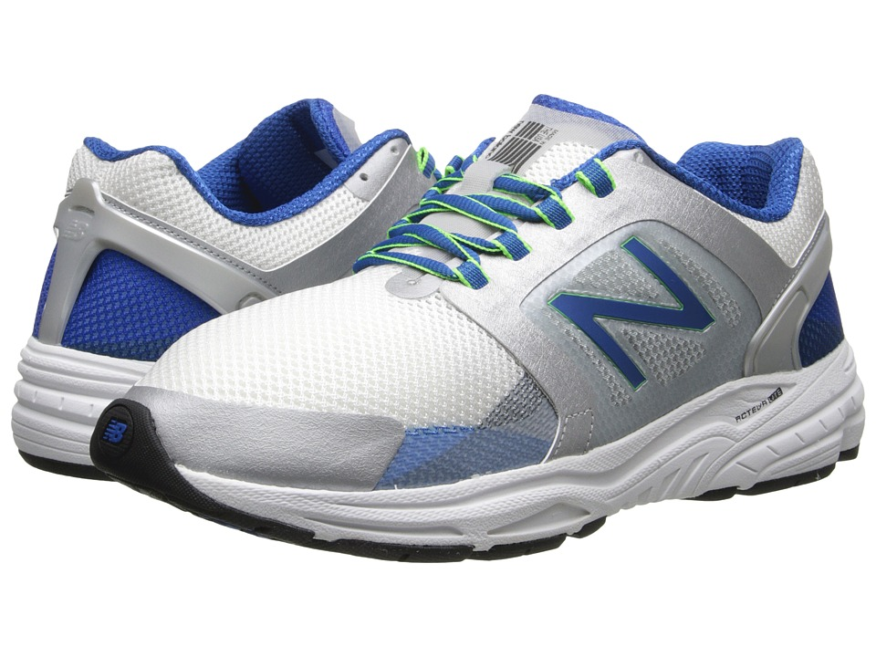 New Balance - M3040v1 (Silver/Classic Blue) Men's Shoes