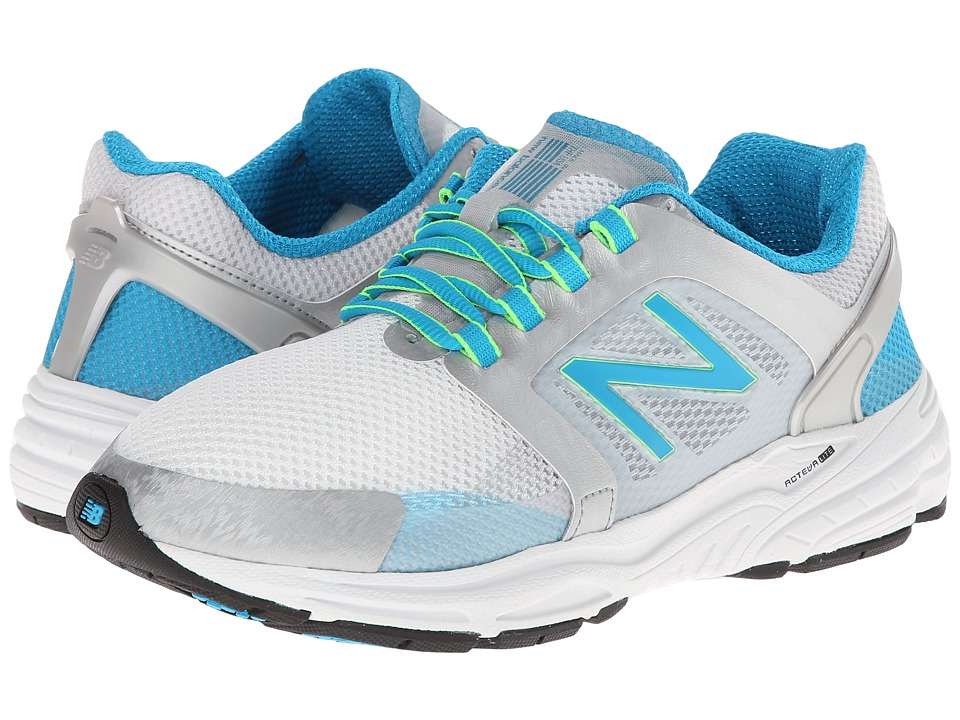 New Balance - W3040v1 (Silver/Blue Infinity) Women's Shoes