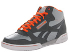 Reebok - CL Exertion Mid (Flat Grey/Gravel/Steel/Blazing Orange)